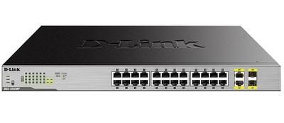 D-Link DGS-1026MP, 26 Port Gigabit Max PoE Switch
